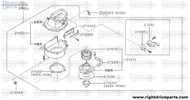 27020F - bracket, blower - BNR32 Nissan Skyline GT-R