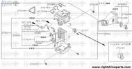 27626 - tube, evaporator inlet - BNR32 Nissan Skyline GT-R