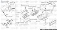 27545 - lamp assembly, heater control - BNR32 Nissan Skyline GT-R