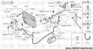 27650 - condenser assembly - BNR32 Nissan Skyline GT-R