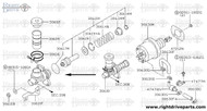 30610K - piston kit, clutch master cylinder - BNR32 Nissan Skyline GT-R