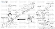 47477M - clamp, check valve - BNR32 Nissan Skyline GT-R