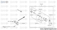 30625A - spring, piston - BNR32 Nissan Skyline GT-R