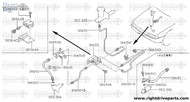 30650 - tube assembly, clutch - BNR32 Nissan Skyline GT-R