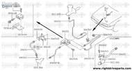 30653D - bracket, clutch hose - BNR32 Nissan Skyline GT-R