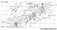 30534 - spring, retainer withdrawal lever - BNR32 Nissan Skyline GT-R