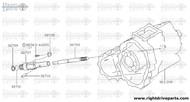 32707 - sleeve, speedometer pinion - BNR32 Nissan Skyline GT-R