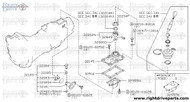 32382P - bracket, rod over drive - BNR32 Nissan Skyline GT-R