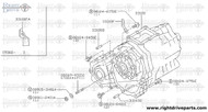 33100 - transfer assembly - BNR32 Nissan Skyline GT-R