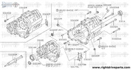 33114M - seal, oil transfer case - BNR32 Nissan Skyline GT-R