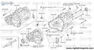 33114N - seal, oil transfer cover - BNR32 Nissan Skyline GT-R