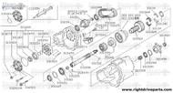 32140N - flange assembly, companion - BNR32 Nissan Skyline GT-R