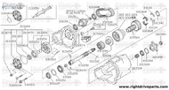 33136M - bearing, needle - BNR32 Nissan Skyline GT-R