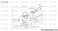41620EF - clamp - BNR32 Nissan Skyline GT-R