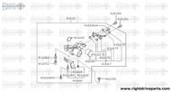 41666 - bracket, actuator - BNR32 Nissan Skyline GT-R