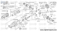 38303 - label, differential - BNR32 Nissan Skyline GT-R