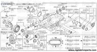 38120Y - bearing, drive pinion - BNR32 Nissan Skyline GT-R