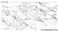 39100B - nut - BNR32 Nissan Skyline GT-R