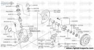 40264 - washer, front wheel bearing - BNR32 Nissan Skyline GT-R