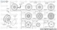 40353 - label, label - BNR32 Nissan Skyline GT-R