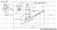 46045 - seal, reservoir tank - BNR32 Nissan Skyline GT-R