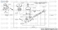 46047 - float, reservoir tank - BNR32 Nissan Skyline GT-R