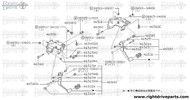 46520 - pedal assembly, brake - BNR32 Nissan Skyline GT-R