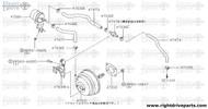 47474 - hose, booster - BNR32 Nissan Skyline GT-R