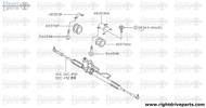 48376RA - insulator - BNR32 Nissan Skyline GT-R