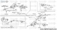 48079 - stopper, coupling flange - BNR32 Nissan Skyline GT-R