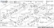 49145 - spring, side plate - BNR32 Nissan Skyline GT-R