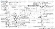 49020FA - insulator - BNR32 Nissan Skyline GT-R