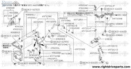 49400A - bolt, control valve - BNR32 Nissan Skyline GT-R
