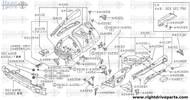 64888 - bracket, recirculation valve mounting - BNR32 Nissan Skyline GT-R