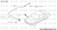 65620B - clip - BNR32 Nissan Skyline GT-R