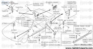 76630D - insulator, rear pillar inner - BNR32 Nissan Skyline GT-R