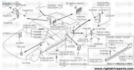 76630DB - insulator, rear pillar inner - BNR32 Nissan Skyline GT-R