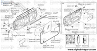 80101 - door, front LH - BNR32 Nissan Skyline GT-R