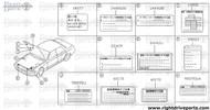 22409 - label, spark plug - BNR32 Nissan Skyline GT-R