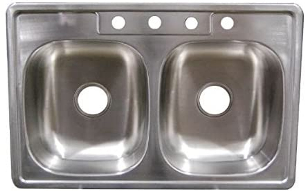 33 X 19 X 6 Deep Stainless Steel Sink H S Mobile