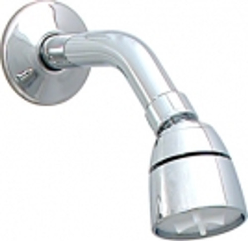 Shower Arm with Flange & Shower Head Chrome