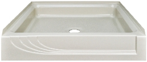 "Better Bath 32"" x 32"" Almond ABS Plastic Shower Pan"