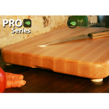 Urthware Pro Series XL wide Canadian Hard Maple cutting board using only organic natural finishes