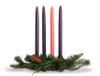 Advent Candles - Set of 4 Hand Dipped Beeswax