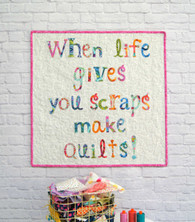 A just for fun Mini Quilt - make to gift or decorate a special space