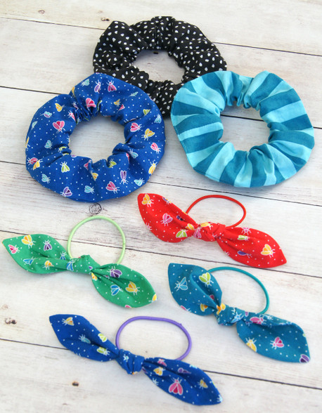 Hair Ties and Scrunchies - addictive to make