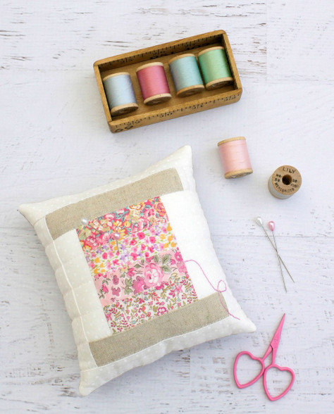 Beautiful pincushion for all your pins and needles