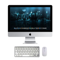 "Apple iMac 21.5"" - i5 (Quad), 4GB, 500GB, DVD-RW, OS 10.12 Sierra (Keyboard/Mouse Included)"