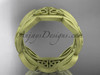 14kt yellow gold celtic trinity knot wedding band, matte finish wedding band, engagement  ring CT7264G
