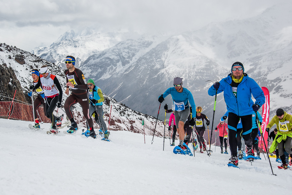 Red Fox TSL Challenge snowshoe race